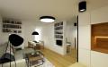 Rekonstrukce bytu - pohled z kuchyně