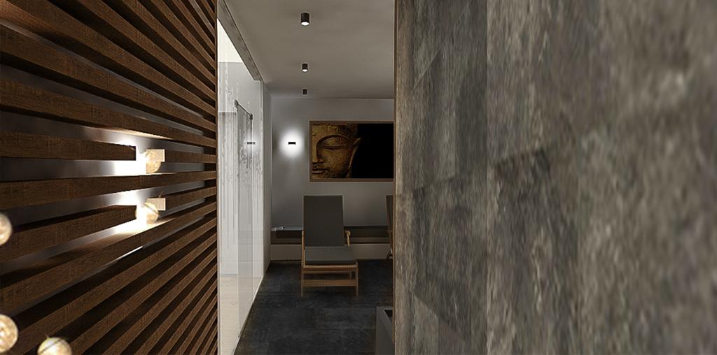 sauna v rodinném domě