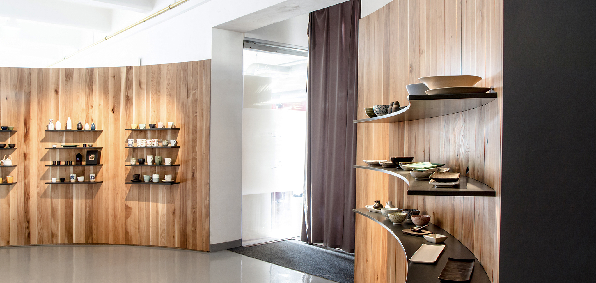 Interiér showroomu