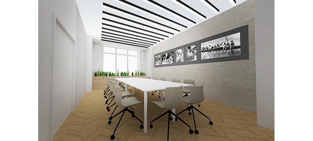 Zasedací místnost formální