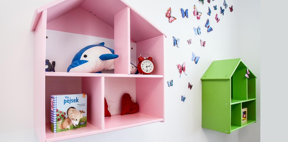 Dětský pokojíček - království hraček