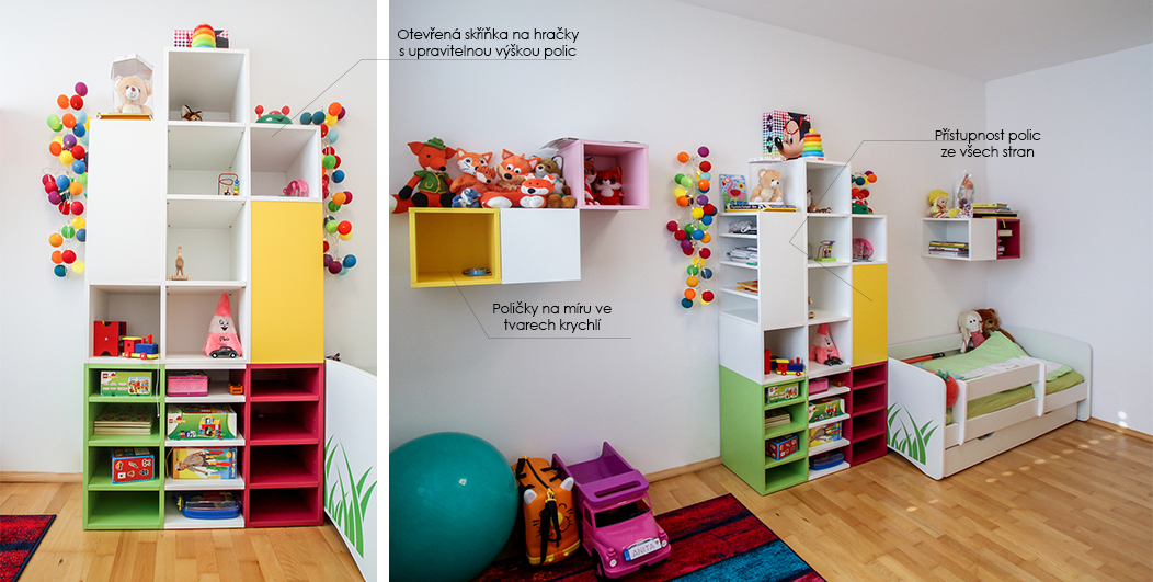 Nábytek do dětského pokoje 2