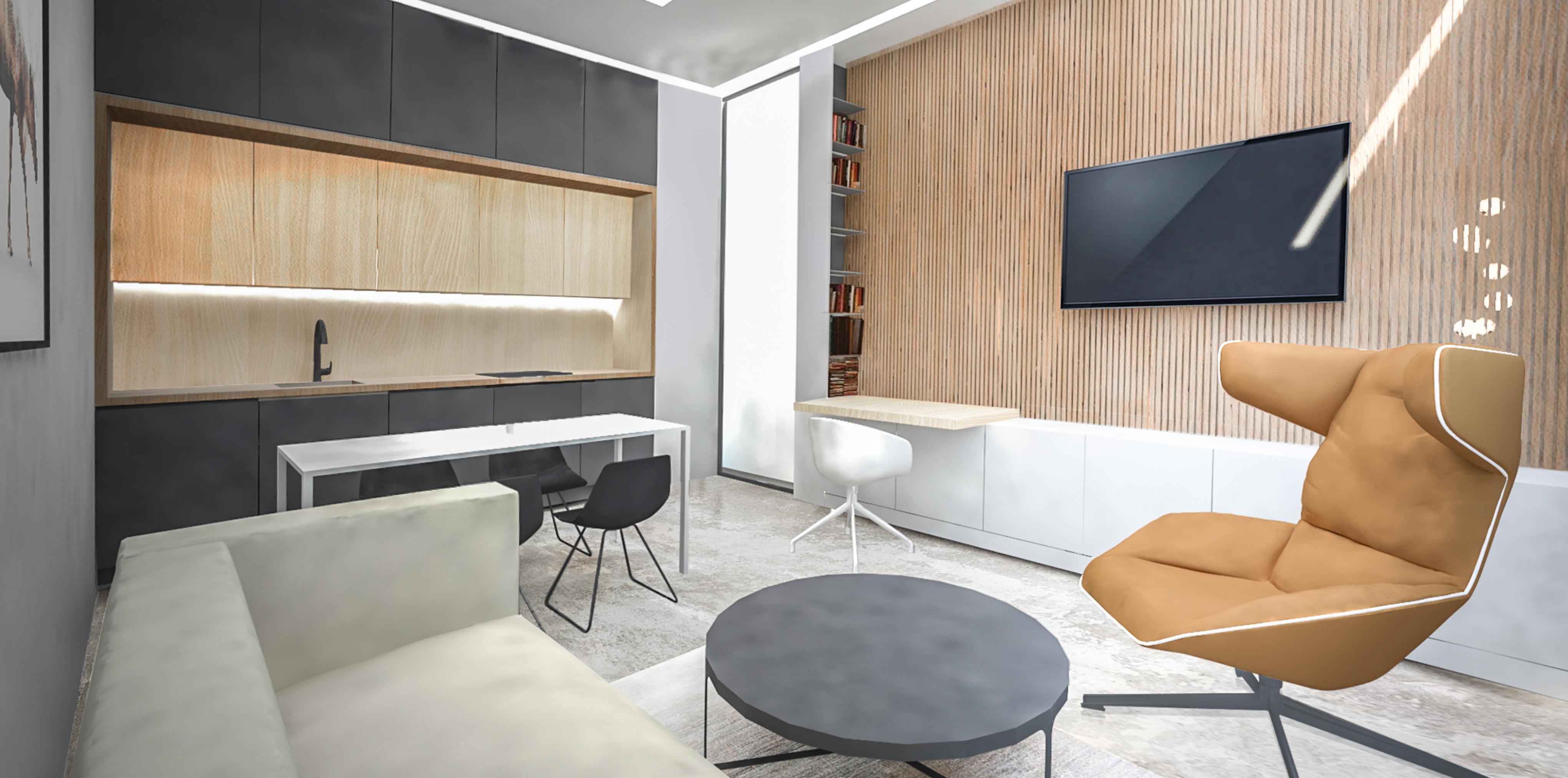 interiér bytu 2 kk_n