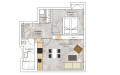 Přestavba bytu 2+kk
