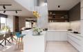 Interiér projektu Na Meandru_Kuchyně