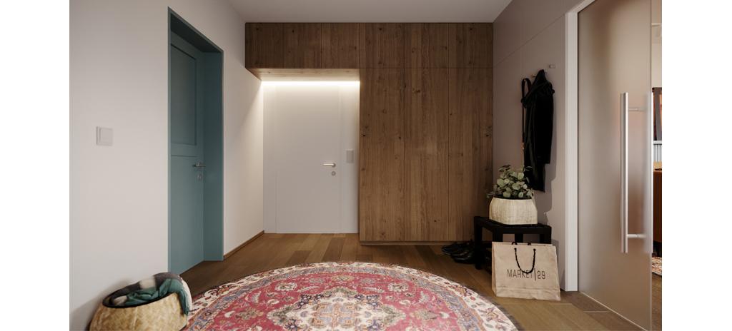 svérázný interiér
